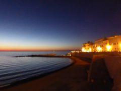 プーリア州優雅な夏バカンス♪ Vol332(第15日) ☆Gallipoli:美しいガッリーポリ旧市街 残照のイオニア海♪