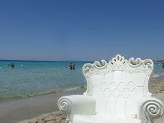 プーリア州優雅な夏バカンス♪ Vol338(第16日) ☆Gallipoli:ガッリーポリビーチ高級リド「サムザーラ」午後も優雅にまどろむ♪