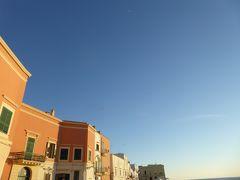 プーリア州優雅な夏バカンス♪ Vol340(第16日) ☆Gallipoli:美しいガッリーポリ旧市街 夕日を眺めて♪