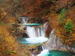 紅葉の西沢渓谷ハイキング
