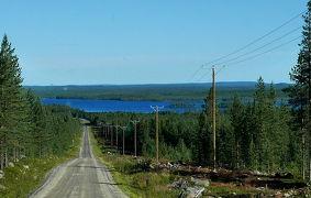 2017.8 22回目のフィンランド旅行16-8日目Luostoへのドライブ