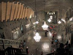 ポーランド旅行記(3)美しすぎる塩の地下宮殿ヴィエリチカ岩塩坑を訪問。
