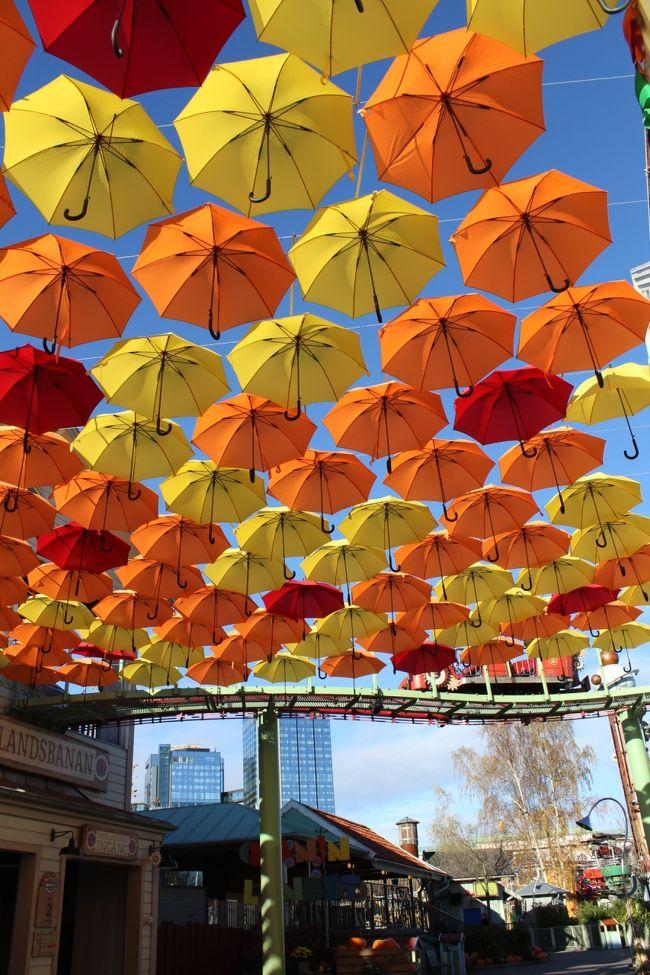 リーセベリ遊園地ではハロウィーンイベント開催中。