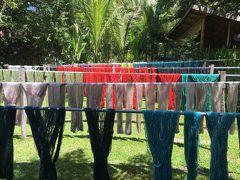 ラオスの伝統織物をめぐる(ルアンパバーン)