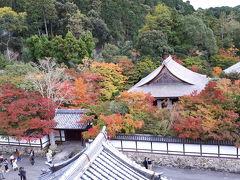 紅葉の京都三連休