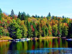 カナダ(17) アルゴンキン州立公園②カヌーレイク