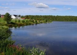 22回目のフィンランド旅行18-8~9日目 Kemijarviから帰る,Pittisjarviの風景,RVN空港へ