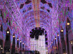 プーリア州優雅な夏バカンス♪ Vol347(第16日) ☆Scorrano:スコッラーノのルミナリエ♪光の大回廊の向こうに巨大光タワー♪