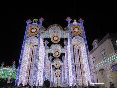 プーリア州優雅な夏バカンス♪ Vol348(第16日) ☆Scorrano:スコッラーノのルミナリエ♪美しい光の大聖堂♪