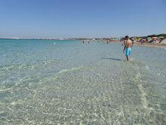 プーリア州優雅な夏バカンス♪ Vol353(第17日) ☆Gallipoli:ガッリーポリ高級リド「サムザーラ」優雅なビーチバカンス♪青いイオニア海に染められて♪