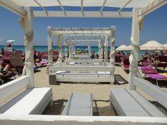 プーリア州優雅な夏バカンス♪ Vol355(第17日) ☆Gallipoli:ガリポリ高級リド「サムザーラ」優雅なビーチバカンス♪ジャンボなモヒート♪