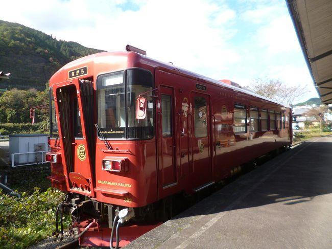 11月に入っての三連休。どこかに出掛けたくなり滋賀・岐阜のローカル線に乗ってきました。連休ということで賑わっているところもありましたが、鉄道ぶらり旅でのんびりできました。