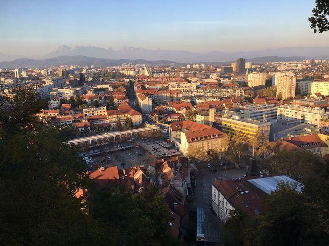 ベオグラードから入るクロアチア・スロべニア周辺5カ国周遊旅行スロベニア、リュブリャーナ編 2日目