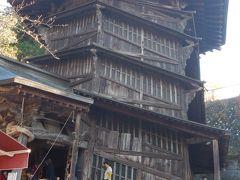 紅葉を見に福島・栃木へ! Vol.3。福島編。気になっていたさざえ堂は不思議な建築物。そして白河ラーメンを食べ、あゆり温泉で癒されました( ^ω^ )