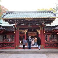 東京の谷根千を歩きました、根津神社では御朱印をもらいました