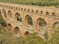フランス 美しい街並みと世界遺産を訪ねて(6)古代ローマの巨大水道橋 ポン・デュ・ガール