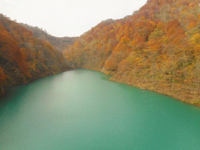 秋田市内から田沢湖畔を半周して、本日の最終目的地、十和田湖へ向かいます。<br /><br />どこまでも、ず~っとつづく玉川ダムがあるR341は見事な紅葉・・・!<br /><br />秋田県と岩手県をまたぐ八幡平を横断する山岳ワインディングロード(八幡平アスピーテライン・樹海ライン)<br />今回は入口しか見てないので、いつか必ず訪れてみたいです!