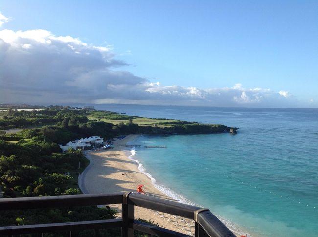 ハワイに行った際に出来なかったパラセーリング<br />心残りだった姉が、沖縄でリベンジしようと言い出した<br />皆様の旅行記を参考に、モントレ一泊、アリビラ二泊のマリンスポーツと<br />グルメを楽しみに行って来ました~<br /><br />初の投稿で、読み難くて恐縮です