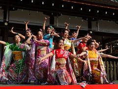 2017 西陣きもの・帯フェスティバル(京小町踊り子隊)(3)