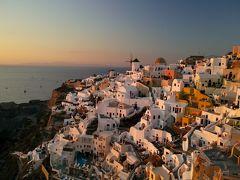 世界一の夕陽が見れる場所~サントリーニ島~