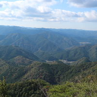 鳳来寺山で登山。2