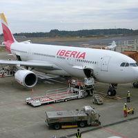 イベリア航空でバルセロナ、初めてのヨーロッパ!1日目は移動日