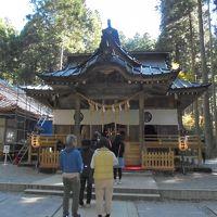 日本最強のパワースポットと噂される御岩神社と大子の庄乃家で新そばを食す。