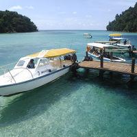 ボルネオ コタキナバル サピ島、マヌカン島ビーチへ 2日目【4泊5日】