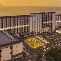あえて悪天候の木更津龍宮城ホテル三日月で日帰り入浴する!