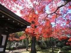 紅葉の多福寺を訪問する