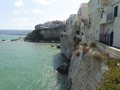 プーリア州優雅な夏バカンス♪ Vol397(第20日) ☆Vieste:美しきビエステ♪旧市街に沿ってアドリア海を眺めて♪