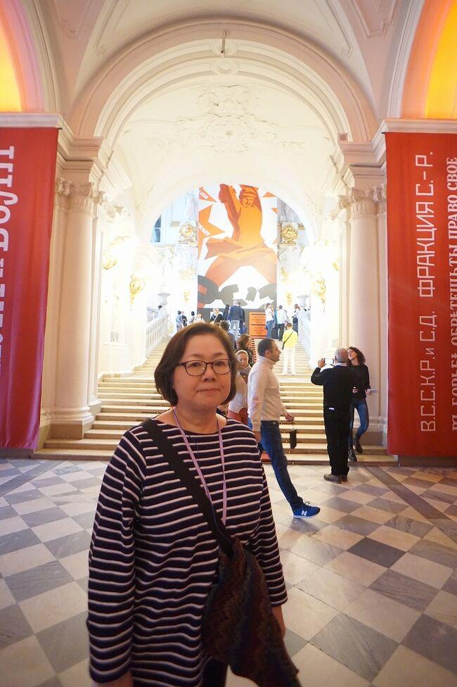 初冬のロシア旅(12)サンクトペテルブルグ 美術館の絵画を観る前にエルミタージュ宮殿の豪華さと歴史の深さに驚嘆する。