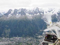 伊瑞仏周遊の旅<第6日>シャモニー ブレヴァン展望台→氷河のトンネル