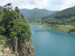夏の軽井沢バカンス♪ Vol5 ☆四万温泉:美しい「四万湖」とダム♪