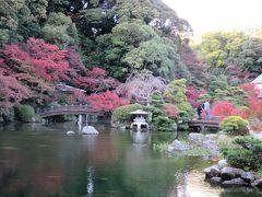 長府庭園(下関市)で紅葉を見て、串崎城址(関見台公園)にも行く(修正版)
