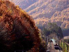 錦秋の中山道・藪原宿と中央西線沿線に広がる紅葉を探しに訪れてみた
