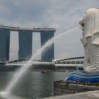 2013シンガポール 初めての海外一人旅初日 出発からホテル到着まで