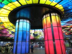 台湾 「行った所・見た所」 高雄の「西子湾大飯店愛河館」宿泊と「六合夜市・美麗島駅」見物