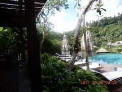 バリ島:マンダパ・リッツ・カールトン・リザーブ Ⅲ Pool・庭・部屋
