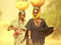 今は昔 西アフリカ ニジェールの町や人々