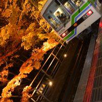 2017年11月 紅葉を愛でる京都女子旅♪Vol.2 ~叡山電車「きらら号」乗車~「くらま温泉」~「貴船神社」ライトアップ~