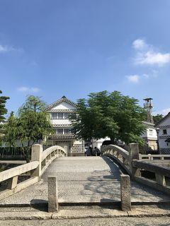 倉敷川からの歴史保存地区の眺め