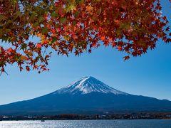 2017年山中湖ロッジ滞在記(10) 今年最後の山中湖ロッジ滞在中も気ままな富士山撮影に明け暮れる