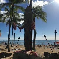母娘&叔母 弾丸!ハワイの旅ー出発・1日目ー