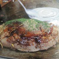 2016 松山から伊予鉄に乗って三津で名物の三津浜焼きを食べたりデパ地下で翌朝のごはんを調達したりしました!