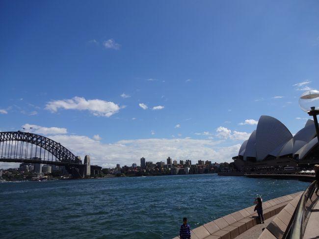 JALのマイルがたまったので、思い立ってシドニーへ行ってきました!