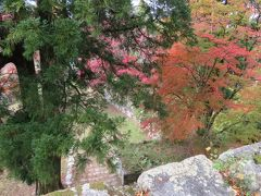2017秋、奈良の名城巡り(4/12):11月16日(4):高取城(4/6):高取城、本丸跡、天守台、楓の紅葉