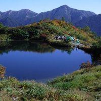北アルプス 天空の奥又白池 (1泊2日)