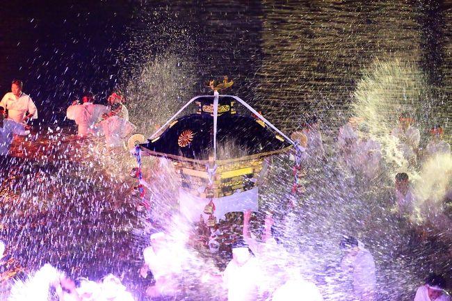若宮八幡宮秋季大祭の最終日です。<br /> 神輿が下宮から若宮八幡本宮へ戻ります。