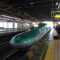 2017 11 函館-1 北海道新幹線で函館へ